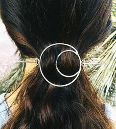 Moon Hair Pin