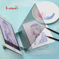 Painting LED Projection Optical Drawing Board Projector Paint Tools Sketch Art Copy Tool for phone tablet How To Make Drawing, Basic Drawing, Drawing Skills, Drawing Board, Projector Paint, Acid Paper, Drawing Application, You Are The World, Painting Tools