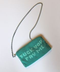Pretty Offensive || Fuck You Pay Me Purse