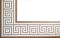 """Da revista """"Croché arte e tradição"""", 2 entremeios de inspiração geométrica. manela"""