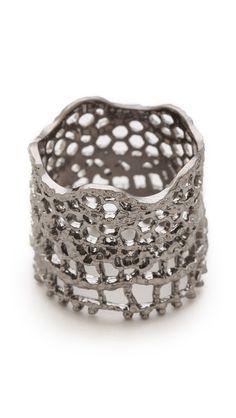 Aurelie Bidermann Кольцо Vintage Lace