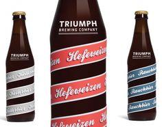 Beer bottles designed by Abby Brewster