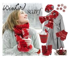 """""""Winter Scarf 2"""" by kathleensmith-i ❤ liked on Polyvore featuring Paule Ka, Aéropostale, Uniqlo, Burberry and El Naturalista"""
