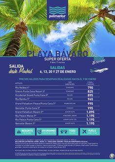 Super Oferta Playa Bávaro Enero ultimo minuto - http://zocotours.com/super-oferta-playa-bavaro-enero-ultimo-minuto-3/