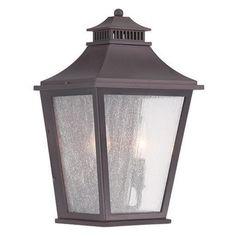 Acclaim Lighting Chapel Hill 9 in. Outdoor Wall Mount Lantern Light Fixture - 32013ABZ