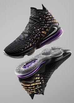 Nike LeBron 17 Lakers Release Date - Sneaker Bar Detroit Zapatillas Nike Basketball, Zapatillas Nike Jordan, Nike Basketball Shoes, Nike Lebron, Lebron 17, Lebron James Nike Shoes, Sneakers Mode, Sneakers Fashion, Nike Tennis