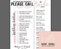 Editable Wedding Timeline Call Anyone but the Bride and | Etsy | Editable Wedding Checklist | How To Plan A Wedding In 1 Month. AS long as you know what is perfect to the both of you, you'll be able to have your dream wedding event. From start to end up, your wedding ought to be a terrific time of your life. As you celebrate your new life together with friends and family, you'll desire it to...