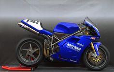 Ducati 996RS - Vicki Smith on http://www.ducati.net/