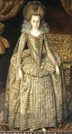 It's About Time: Biography - Anne of Denmark 1574-1619 - the ups & downs of being married to King James VI & I.