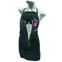 Tuxedo Apron $9.99 Novelty Aprons, Stag And Doe, Party Needs, Tuxedo, Athletic Tank Tops, Shirts, Women, Fashion, Moda
