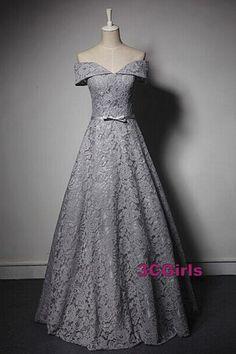 Vintage lace prom dress