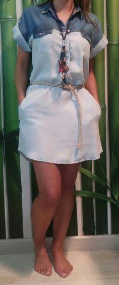 Vestido camisero #salsa