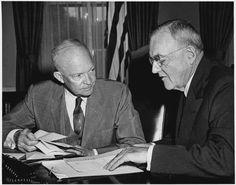 President Eisenhower and John Foster Dulles