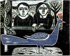 Gilvan Samico - João Maria e o pavão azul