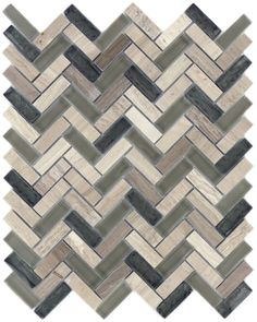 Sheet size: 11 x Size: x 1 per sheet: 112 Tile thickness: Joints: Mount: Mesh BackedSold by the sheet Natural Stone Backsplash, Stone Tiles, Herringbone Tile, Grey Glass, Mosaic Tiles, Natural Stones, Texture, Wood, Grout