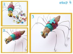 creatieve les spinnen maken Projects For Kids, Diy For Kids, Art Projects, Crafts For Kids, Arts And Crafts, Lace Weave, Pop Stickers, Sculpture Projects, What To Make