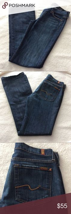 7 For All Mankind Bootcut Jeans 7 For All Mankind Bootcut Jeans, Size 27. Good condition. Please make me a reasonable offer. No trades. 7 For All Mankind Jeans Boot Cut