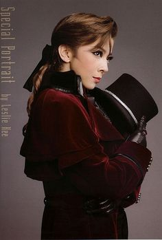 "Hiromu Kiriya ""The Scarlet Pimpernel""  #takarazuka    I want to see this version"