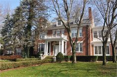 """This is a big house by Nashville standards, gigantic by mine, built in the twenties, a brick colonial revival, sturdy as a ship. Rich Home, Colonial Style Homes, Big Houses, My Dream Home, Kansas City, Beautiful Homes, Home Goods, Brick, Sweet Home"