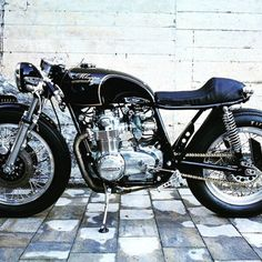Awesome! Honda CB500 Cafe Racer by MKappa Motorcycles #motorcycles #caferacer #motos | caferacerpasion.com