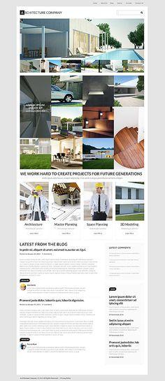 Architekturbüro WordPress Theme