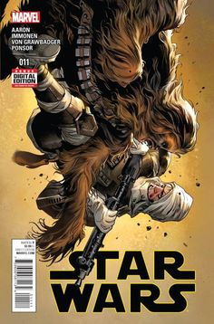 Star Wars Written by Jason Aaron Art by Stuart Immonen Cover by Stuart Immonen Chewbacca unleashed! Skywalker in chains!with a ball and chain? Star Wars Comic Books, Star Wars Comics, War Comics, Star Wars Art, Marvel Comics, Luke Skywalker, Boba Fett, Saga, Han Solo And Chewbacca