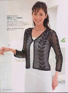 As Receitas de Crochê: Blusa delicada em crochê