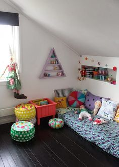Pinterest: rayray0033  // the boo and the boy: eclectic kids' rooms