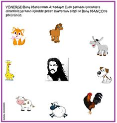 okul öncesi Barış Manço - #Barış #Manço #okul #oncesi Pre School, Preschool Activities, Banner, Snoopy, Education, Comics, Kids, Animals, Fictional Characters