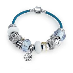 Checkout Snow Christmas Charm at BlingJewelry.com