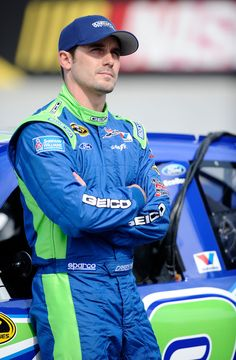 Casey Mears - So Handsome!  ...the start of my athlete obsession.
