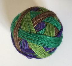 Sock yarn: 'Picking Berries' 4 colours self by Storytellingyarn
