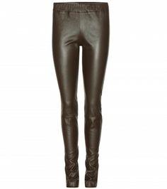 The Row - Moto leather leggings