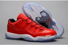 "best service f5b14 1c933 Koop New Air Jordan 11 Retro Low ""Red"" PE Carmelo Anthony Red White Korting  uit betrouwbare New Air Jordan 11 Retro Low ""Red"" PE Carmelo Anthony Red  White ..."