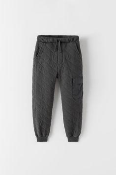 Plush Pants With Elastic Waistband And Adjustable Front Drawstring. Front Pockets And Cuffed Hem. Zara United Kingdom, Zara United States, Joggers, Sweatpants, Zara Fashion, Kids Pants, Zara Kids, New Outfits, Kids Boys