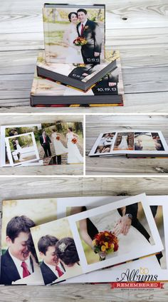 The Best Parent Gift After Wedding Albums From Remembered Start At