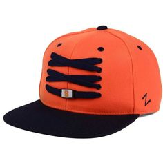Zephyr Syracuse Orange Basketball Lacer Snapback Cap (1,930 INR) ❤ liked on Polyvore featuring men's fashion, men's accessories, men's hats, orange, mens snapback hats and mens caps and hats