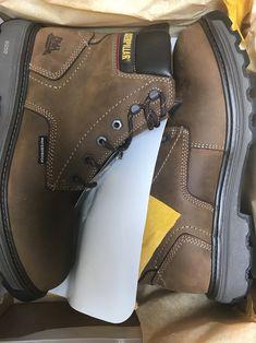 51e03a8badd20 Caterpillar Waterproof Work Boots Size 11 Caterpillar