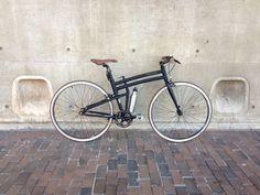 Customized Montague Boston folding bike #singlespeed