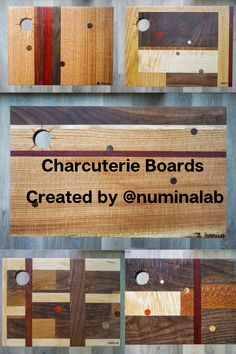 All of these stunning charcuterie boards were created by @numinalab and finished with Half & Half, a perfect blend of Pure Tung Oil and natural, food-grade thinner Citrus Solvent. Pure Tung Oil is a hard-drying wood oil that provides a radiant and attractive finish. It resists marring, penetrates well, and is environmentally safe. It's all-natural, food-safe, and creates a matte finish. Pure Tung Oil, Tung Oil Finish, Real Milk Paint, Wood Finishing, Wood Oil, Raw Wood, Charcuterie Board, Wood Species, Food Grade