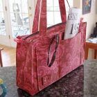 Reversible or Zippered Tote Sewing Pattern