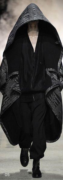 Visions of the Future: Damir Doma designer damirdoma Moda Cyberpunk, Cyberpunk Fashion, Dark Fashion, Gothic Fashion, Mens Fashion, Steampunk Fashion, Looks Style, My Style, Dystopian Fashion