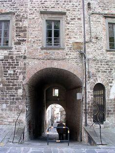 italian brick buildings