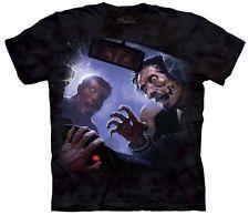 New Zombie Crash Skull Bones Dark Fantasy Tee  Zombies Dead Walking T'shirt
