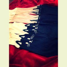 Meia calça black cat-ESGOTADA   Meia calça prédios-40,00. Tam.P- veste quadril de 85 a 98cm/ comprimento- de 1,40cm a 1,75cm. 2 peças. Tights cat and build