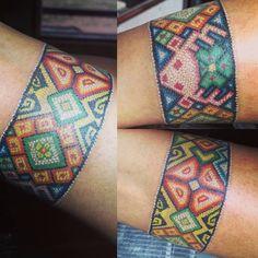 Tatuaje Spqr, Body Art Tattoos, Cool Tattoos, Amazing Tattoos, Arm Band Tattoo, I Tattoo, Mexico Tattoo, Yarn Painting, Tatoo Designs