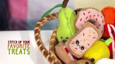 Pretend Food, Play Food, Make Your Own, Treats, Stitch, Sewing, Mini, Sweet Like Candy, Goodies