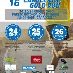 Torna anche quest'anno la manifestazione podistica del lungomare di Napoli: la Caracciolo Gold Run. L'A S D Napoli Sport Events, in collaborazione con la FIDAL Campania e con il Patrocinio del Comu…