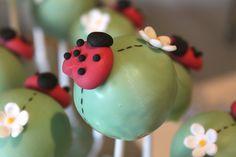 Ladybug Cake Pops