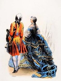 French Rococo Court Costumes. France 18th century clothing. Louis XV Ancien Régime fashion. Court Dress in Versailles